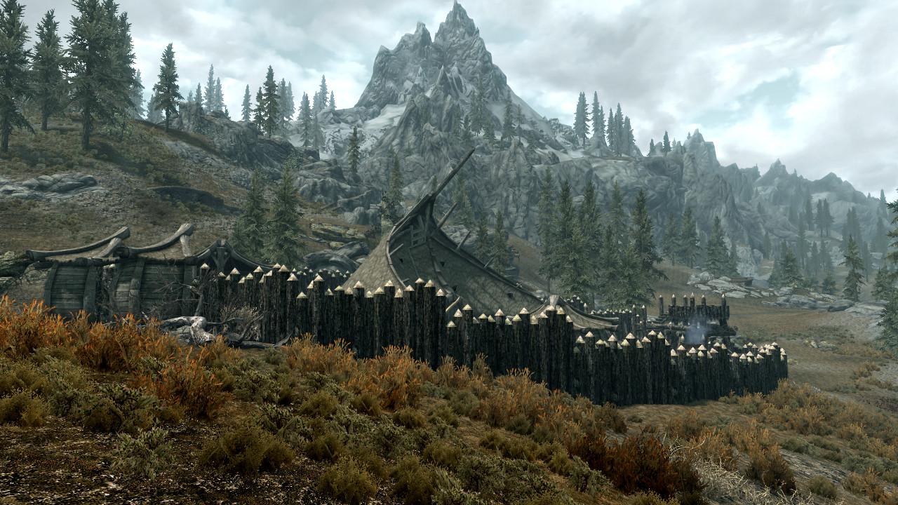 Skyrim Orc Hearthfires